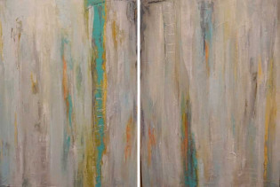 New Beginnings diptych